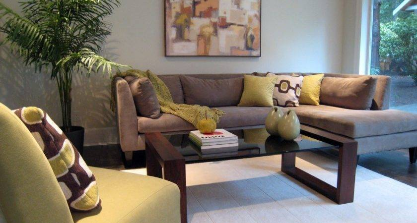 Soft Brown Modern Living Room Sofa Latest