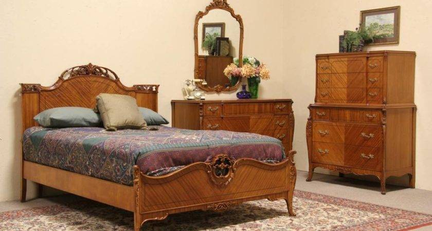 Sold French Style Vintage Bedroom