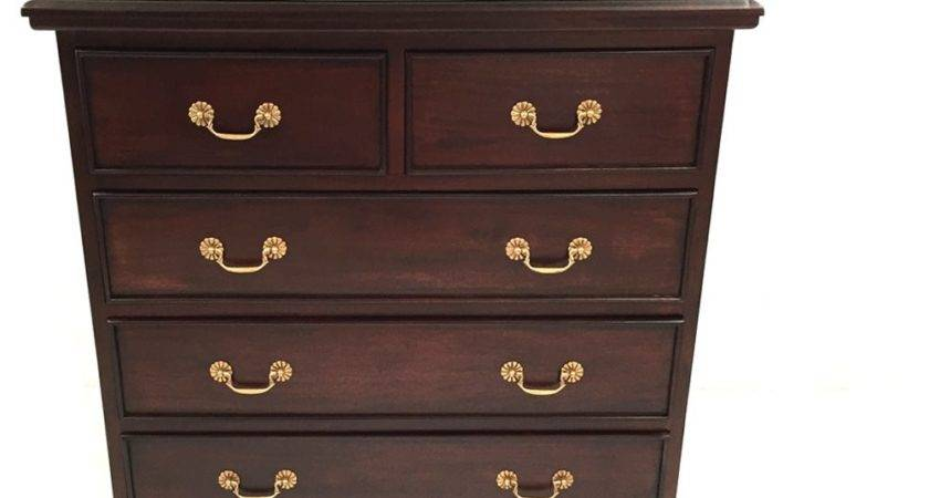 Solid Mahogany Wood Chest Drawers Bedroom Furniture
