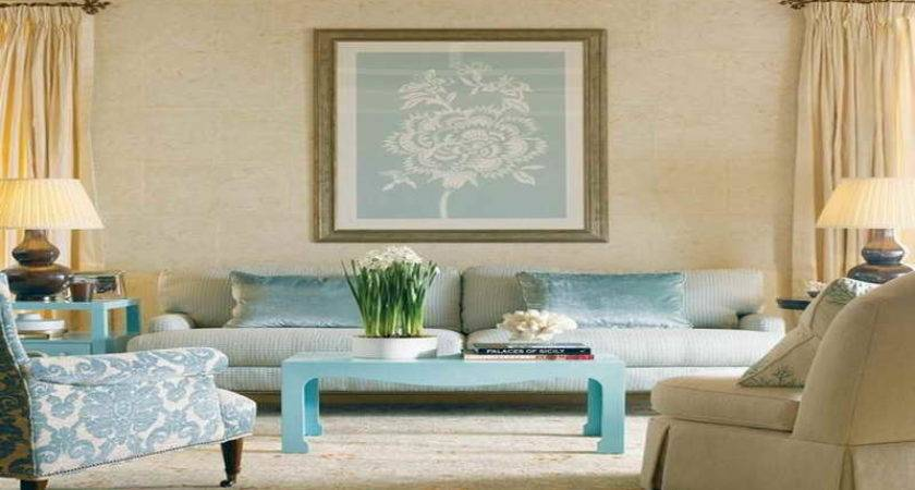 Soothing Living Room Colors Modern House