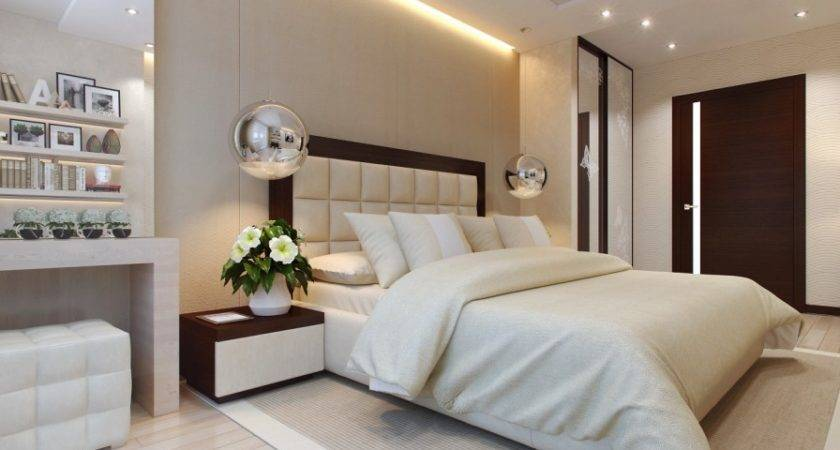 Sophisticated Bedroom Layout Interior Design Ideas