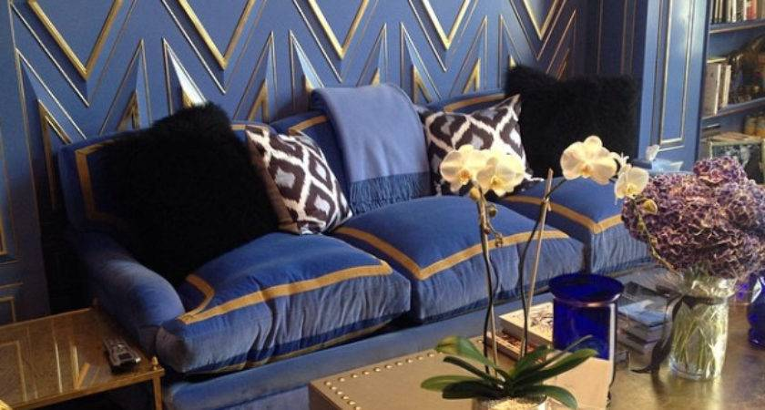 South Shore Decorating Blog Blue Gold Rooms Decor