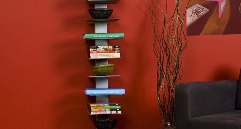 Southern Enterprises Spine Tower Metal Bookcase