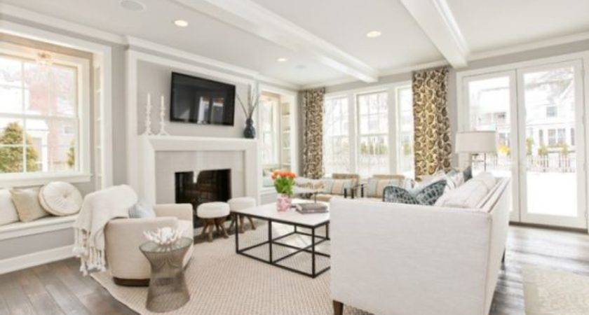 Sparkling White Walls Can Make Room Shine Stand Out