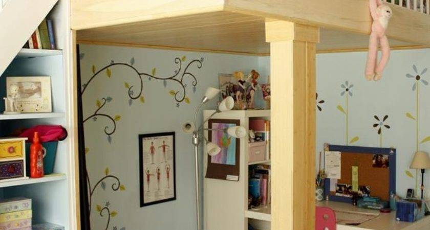 Splendid Queen Loft Bed Ikea Decorating Ideas