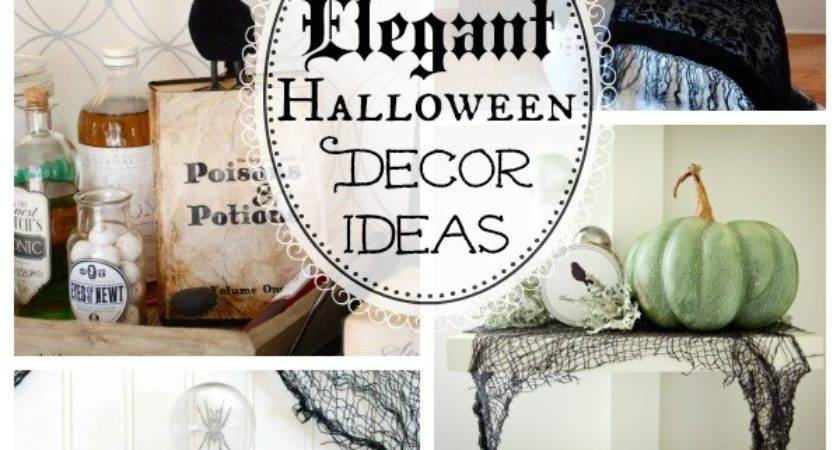Spooktacularly Elegant Diy Halloween Decor Ideas