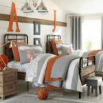 Sporty Bedroom Ideas Basketball Theme Home