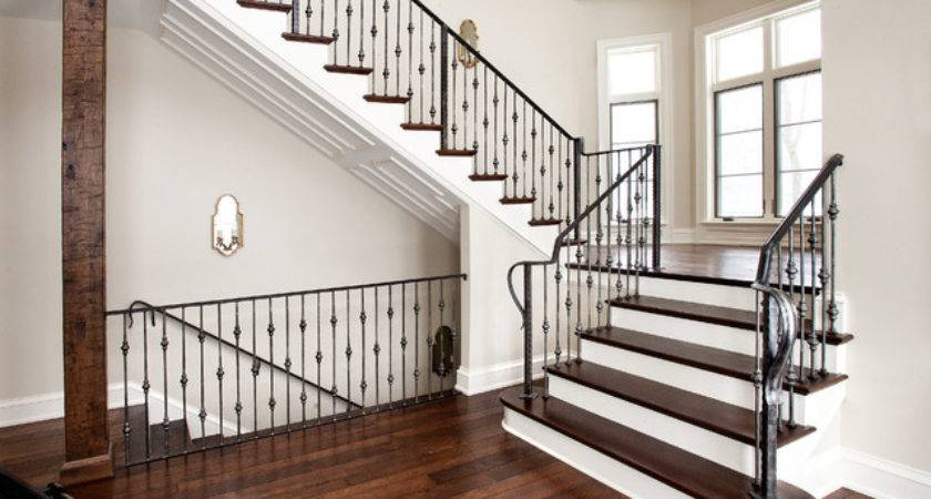 Stair Railing Traditional Staircase