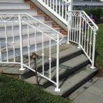 Stairs Amazing Iron Railing Outside Steps Outdoor