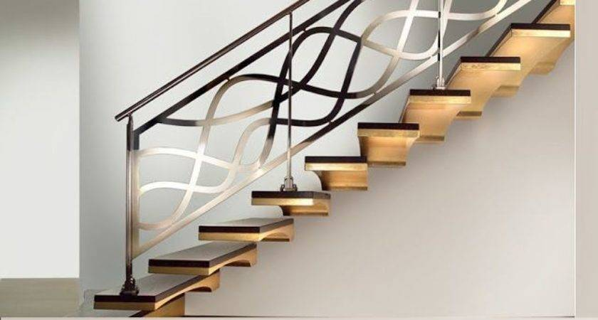 Stairs Awesome Railing Designs Stair