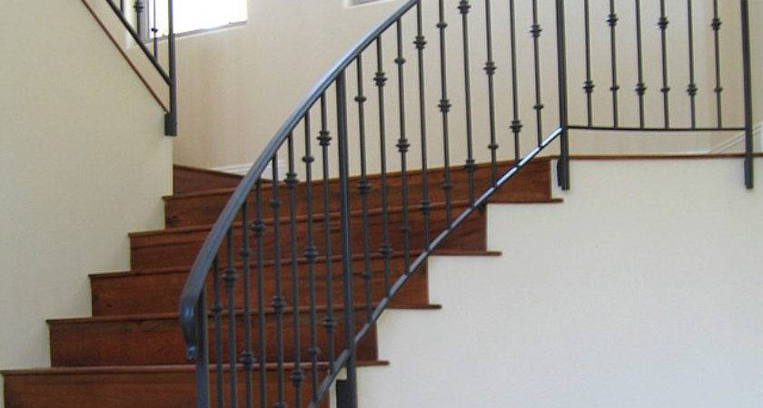 Stairs Inspiring Wrought Iron Stair Railings Interior