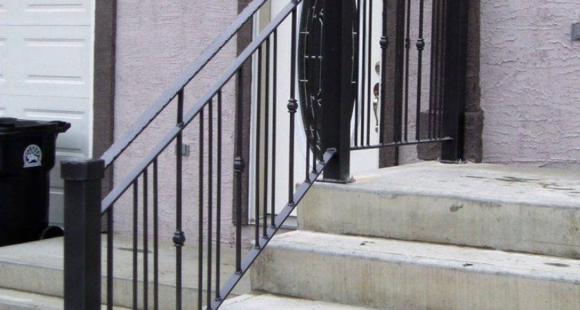 Stairs Marvellous Metal Handrails Outdoor Steps