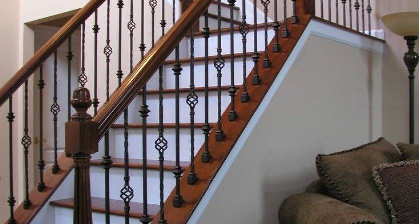 Stairs Outstanding Rod Iron Railing