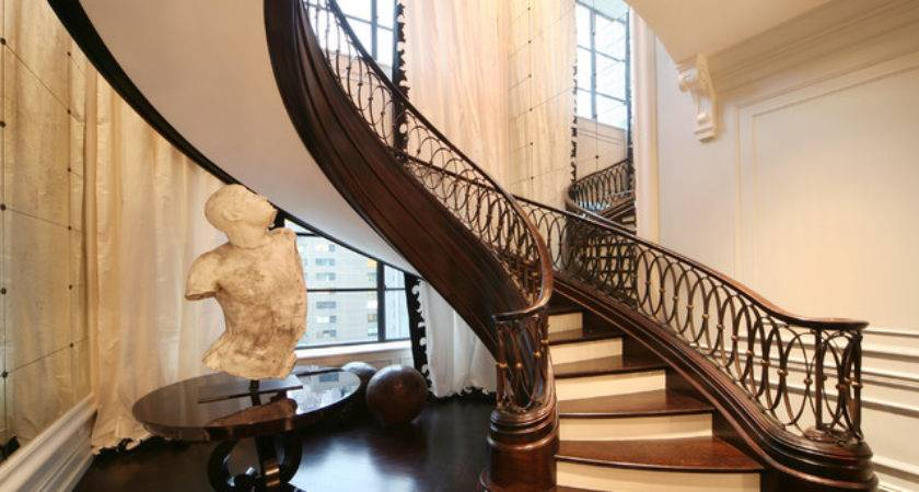 Stairs Railings Nyc Traditional Staircase New