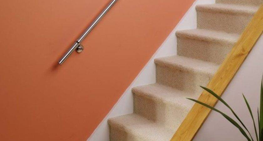 Stairs Staircase Handrail Banister Rail Support Kit