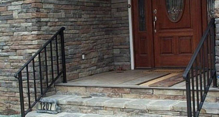Stairs Stunning Outdoor Handrails Home