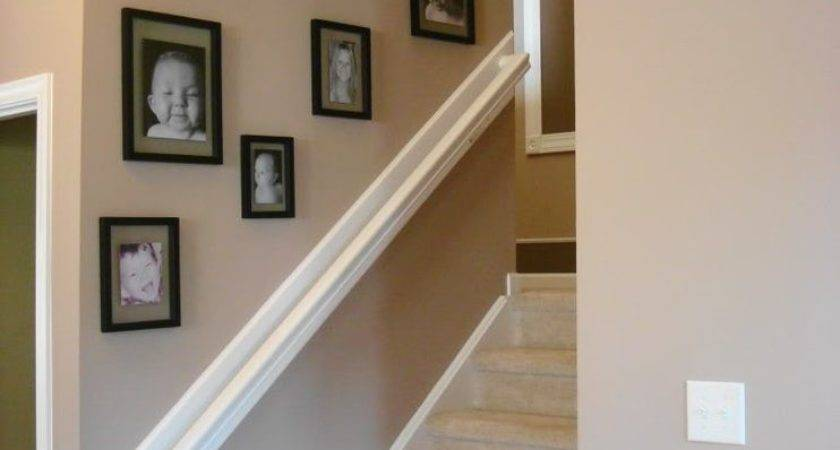 Stairway Wall Decorating Ideas Staircase Contemporary