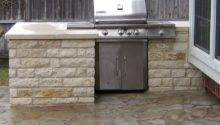 Stand Alone Grill Built Into Counter Area Natural Gas