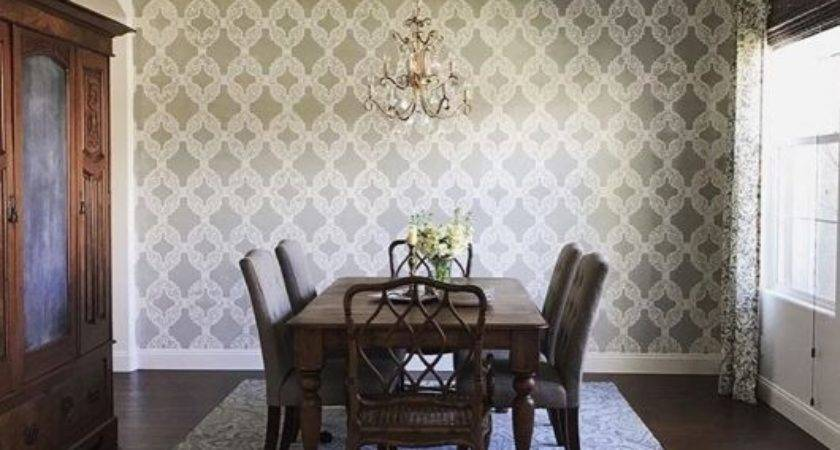 Stencil Ideas Give Your Home Refresher