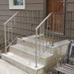 Step Railings Mission Style