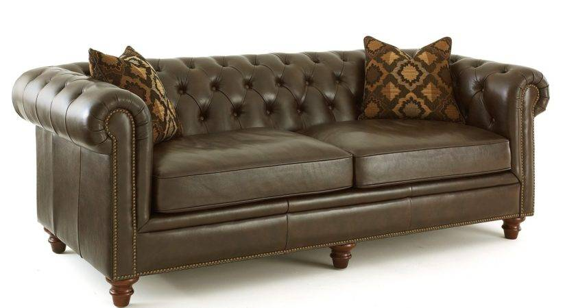 Steve Silver Tusconny Leather Sofa Accent Pillows