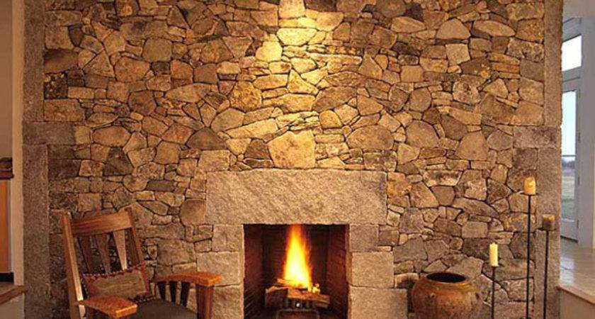 Stone Fireplace Design Ideas