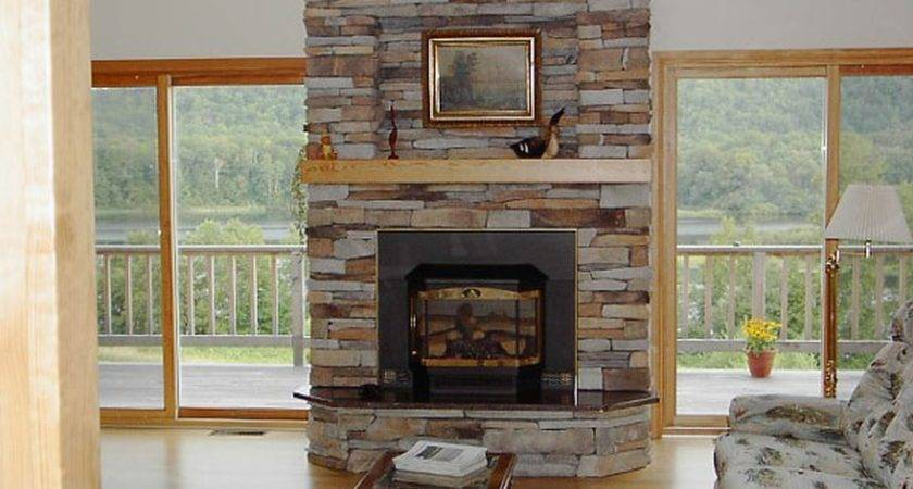 Stone Fireplace Designs Inside Fireplaces Home Decor
