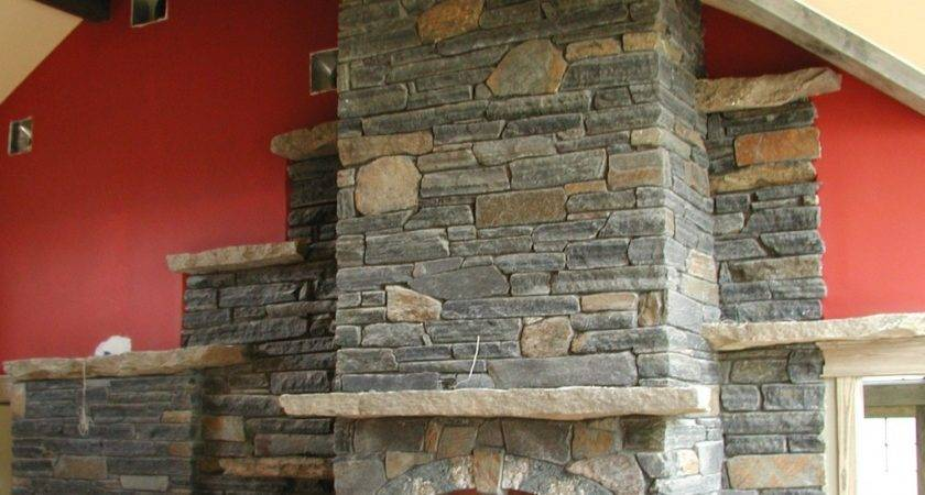 Stone Mantel Shelf Interior Home Ideas