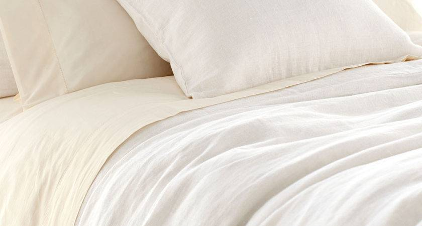 Stone Washed Linen White Duvet Cover Duvets Coverlets Quilts