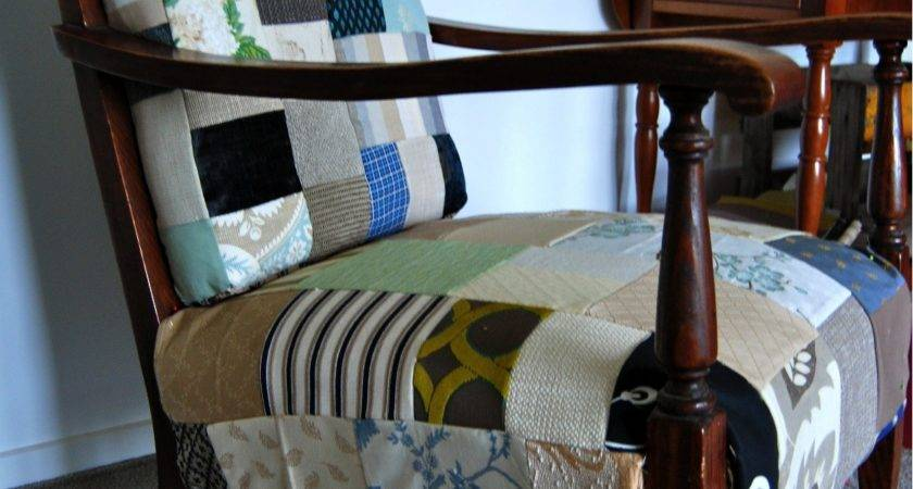 Stonefruit Season Patchwork Covered Chair Reveal Success
