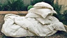 Stonewashed Linen Bedding Duvet Quilt Cover
