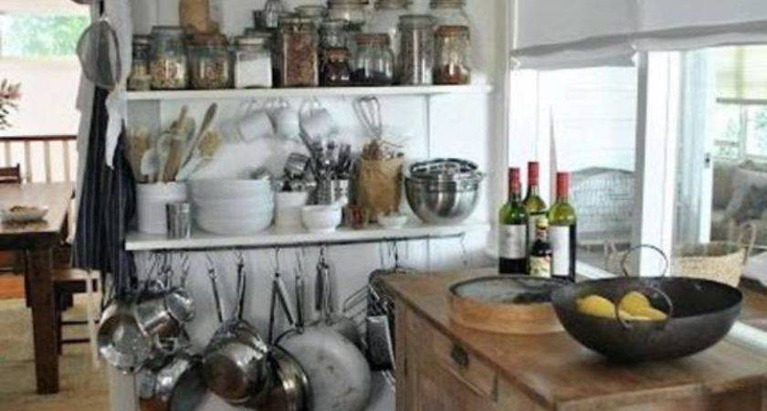 Storage Solutions Small Kitchen Design Hanging