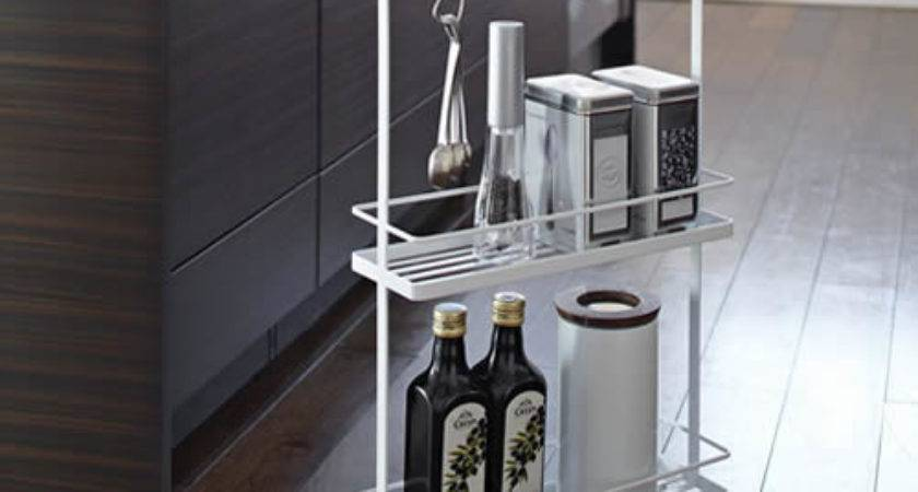 Store Slimline Kitchen Storage Trolley