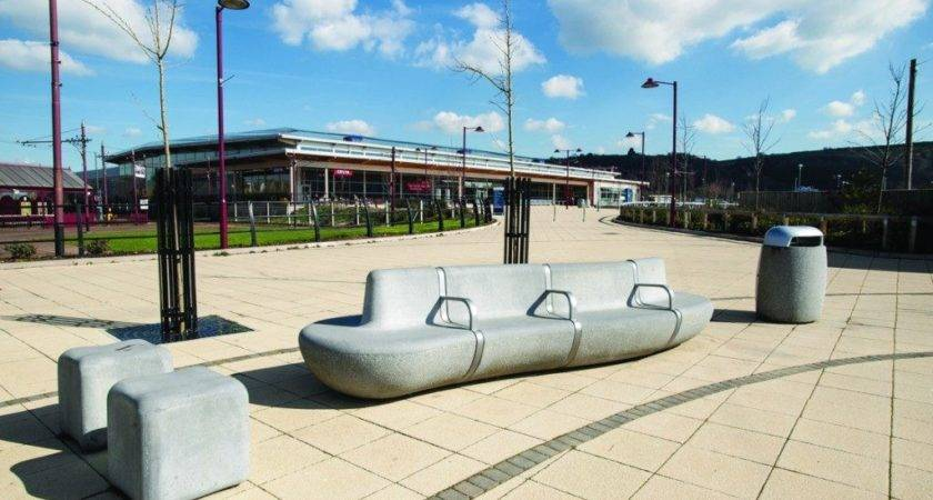 Street Furniture Material Choices Modern Urban