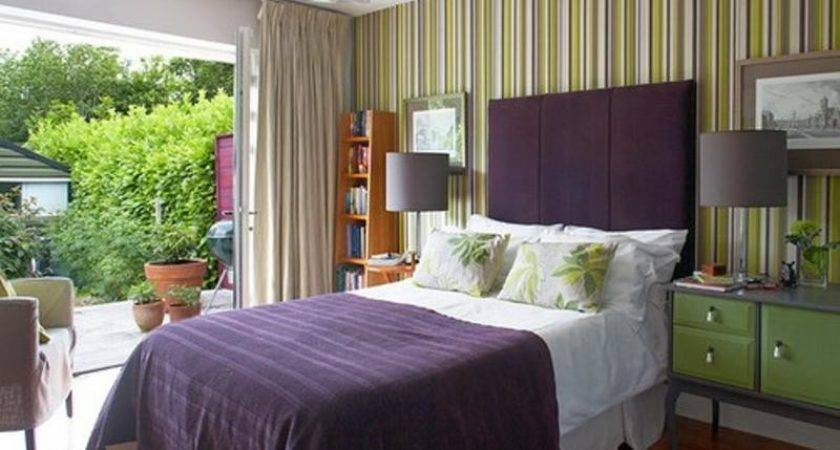 Stunning Bedroom Designs Bold Color Scheme Rilane