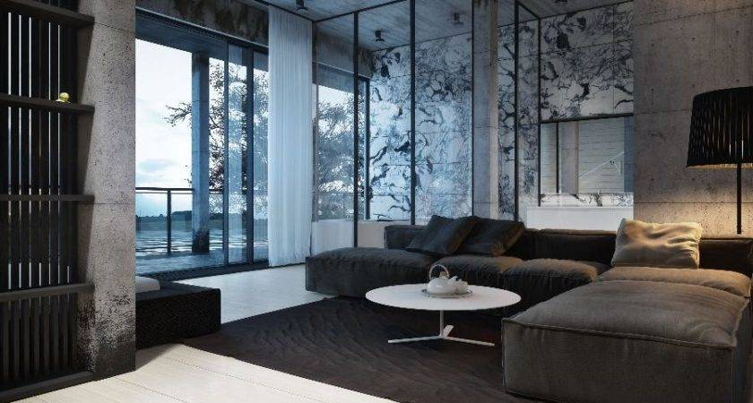 Stunning Black White Interior Design Igor Sirotov