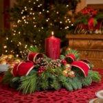 Stunning Christmas Table Decorations Ideas Round Decor