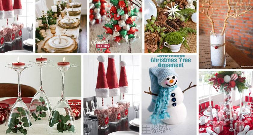 Stunning Christmas Table Decorations