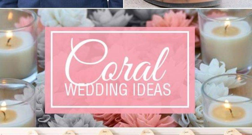 Stunning Coral Reef Color Wedding Decorations Diy