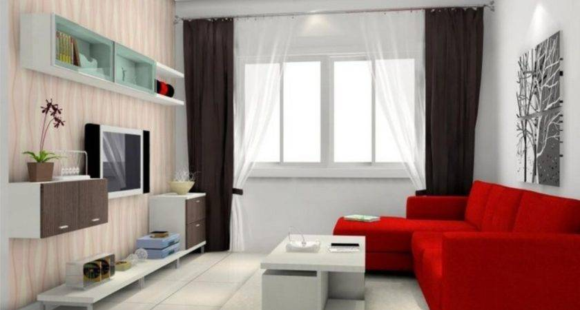 Stunning Decorate Modern White Living Room Design Ideas