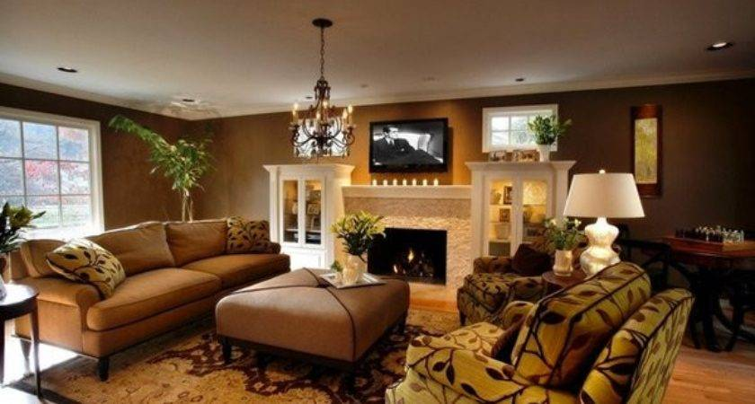 Stunning Earth Toned Living Room Designs Home Design