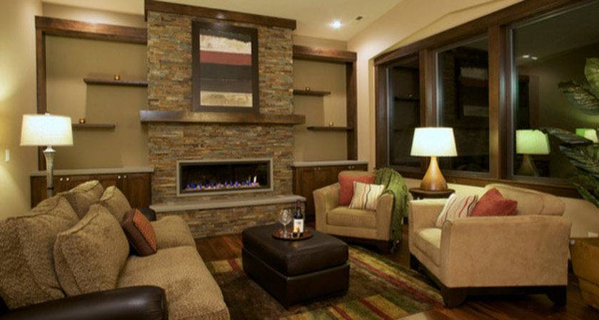 Stunning Earth Toned Living Room Designs