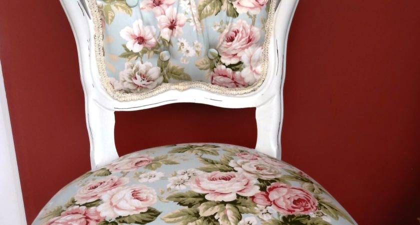 Stunning French Louis Style Chair Shabby Chic Finish