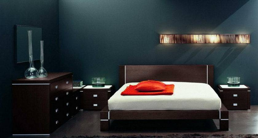Stunning Mens Bedroom Ideas Also Wooden Modern Bed Frame