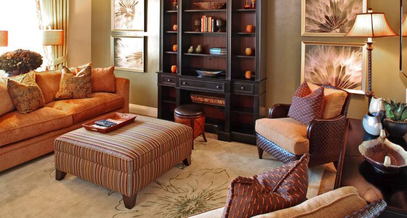 Stunning Orange Sofa Decorating Ideas