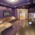 Stunning Purple Living Room Design Ideas
