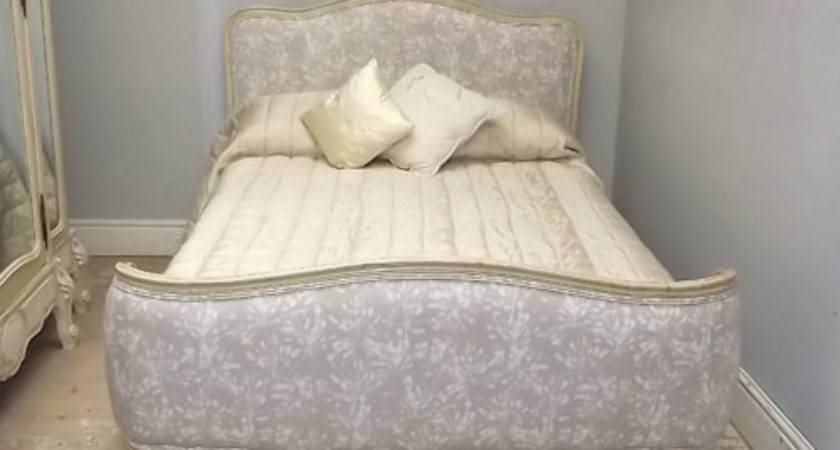 Stunning Vintage French Capitone Bed