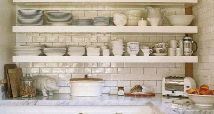 Styling Open Shelves Kitchen Estate Things