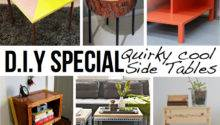 Stylish Diy Side Table Ideas Tutorials