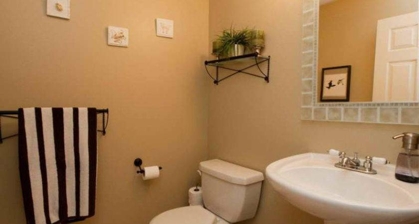 Stylish Home Design Ideas Thrifty Powder Room Makeover